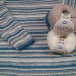 I capolavori delle nostre clienti: la maglia a righe di Katia.