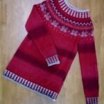 I capolavori delle nostre clienti: la maglia di Cinzia.
