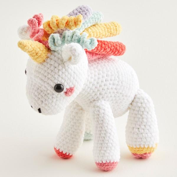 Immagine dell'unicorno realizzato con Happy Chenille